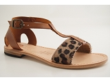 SHUTTLE GIRL ART 1280 LEOPARD:LEOPARD/DESSUS CUIR/EDER SHOES