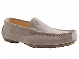 1005739 MOC911:GRIS graphite/VELOURS CUIR/BOTTY SELECTION Hommes
