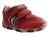 J LT ECLIPSE BALU:ROUGE/MULTI DOM. CUIR/GEOX Enfants