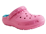 SPIRIDON FIT HILO LINED CLOG KID:ROSE/AUTRES MATERIAUX/CROCS