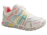 CROCSBAND KIDS 1 SHUTTLE GIRL:BLANC/MULTI DOM. CUIR/GEOX Enfants