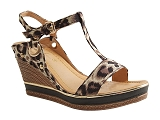 CTAS BUNGEE HI TDF2027:LEOPARD/MULTI DOM. TOILE/BOTTY SELECTION Femmes