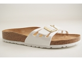 MADRID MAGIC MOLINA:BLANC/VERNIS AUTRE MATERIAU/BIRKENSTOCK