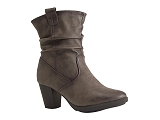 INTER BOOT1003959:GRIS graphite/AUTRES MATERIAUX/BOTTY SELECTION Femmes