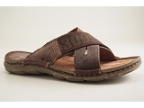 CLASSIC FLIP MULE4359:MARRON/MULTI DOM. AUTRE MATERIAU/BOTTY SELECTION Hommes
