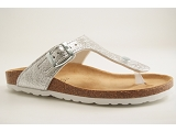 ZOEY FLAT LAIDBACK LONDON 59256:SILVER/AUTRES MATERIAUX/BOTTY SELECTION Femmes