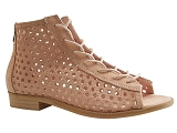 SAND2401 AIDEN:ROSE/DESSUS CUIR/BOTTY SELECTION Femmes