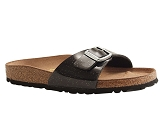 L50646001 MADRID MAGIC:NOIR/VERNIS AUTRE MATERIAU/BIRKENSTOCK