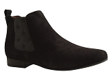 ISA 1048 3 BOOTS:NOIR/VELOURS NUBUCK/BOTTY SELECTION Femmes