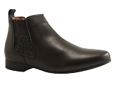 SAVAGEW 1048 4 BOOTS:NOIR/DESSUS CUIR/BOTTY SELECTION Femmes