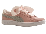 HAWAI 27203 SMASH V2 RIBBON JR:PECHE/VELOURS CUIR/PUMA Adultes