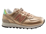 NEW BALANCE NBR WL574NR<br>gold