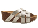 CAPR37117 GADEA:SILVER/MULTI DOM. CUIR/BOTTY SELECTION Femmes