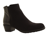 1013091BOOTS MELBOU:NOIR/VELOURS NUBUCK/BOTTY SELECTION Femmes