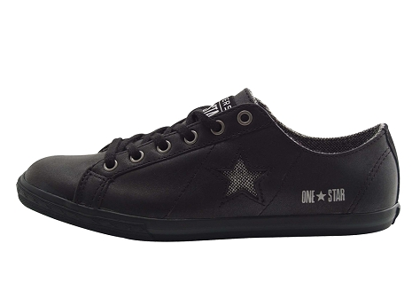Converse adulte one start low noir argent