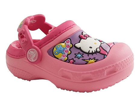 Crocs crocs hello kitty rose