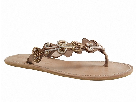 Botty selection femmes zoey flat laidback london bronze