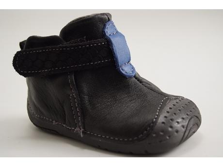 Babybotte Bottines bébé Zak2 noir rxS6cHm8Af