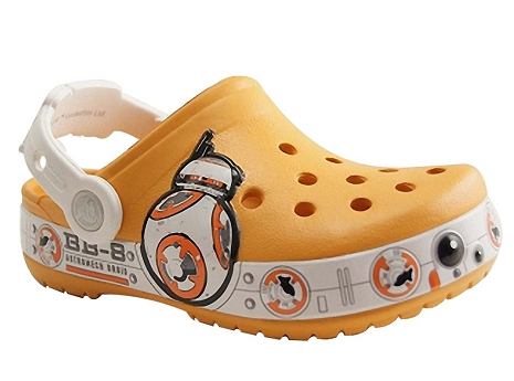 Crocs star wars orange