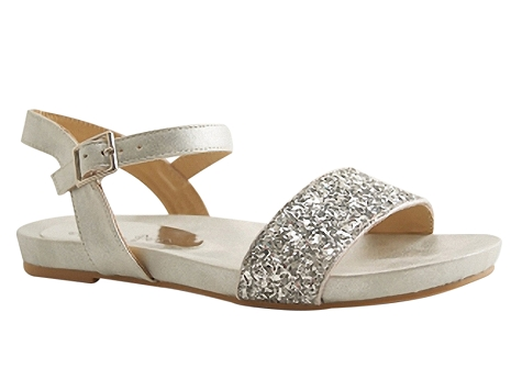 Botty selection femmes sand17016 silver