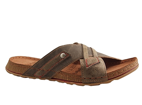 Botty selection hommes mule4316 taupe