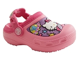 KT1042BFY CROCS HELLO KITTY:ROSE/AUTRES MATERIAUX/CROCS