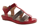 R4673 ENNA:ROUGE/MULTI DOM. CUIR/MADISON BY KARSTON