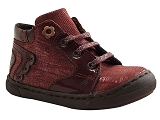 LITTLE MARY KID SHOE ROSAE<br>bordeaux