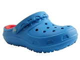 CROCS EUROPE BV HILO LINED CLOG KID<br>bleu ocean