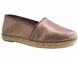 NATURAL ESPADRILLES MARINA<br>metal