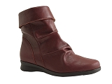 MILEY BOOT10315DN:BORDEAUX/DESSUS CUIR/BOTTY SELECTION Femmes