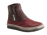 1048 3 BOOTS XAXOLO:BORDEAUX/MULTI DOM. CUIR/MADISON BY KARSTON