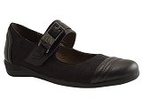 SH407 BLACAS:NOIR/MULTI DOM. CUIR/MADISON BY KARSTON