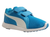 PBX8020 ST TRAINER EVO V KID:BLEU OCEAN/NYLON/PUMA Kids
