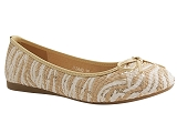 MULE 1004402 BAL2440:BEIGE/MULTI DOM. TOILE/BOTTY SELECTION Femmes