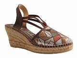NATURAL ESPADRILLES AFRICA<br>marron