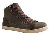 CHARLES IX 56000 1003807 SNEAKERS:GRIS/MULTI DOM. CUIR/TOM TAILOR