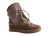 KING AURORE MOONLIGHT GLITTER:TAUPE/MULTI DOM. CUIR/REQINS