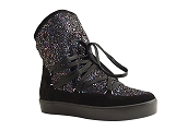 IL550 BANKISE GLITTER:DIVERS/MULTI DOM. CUIR/REQINS