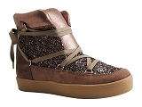SH605 BALTIMORE MIX GLITTER:TAUPE/MULTI DOM. CUIR/REQINS