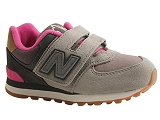 DROP SHOT KV574NHY:GRIS/MULTI DOM. AUTRE MATERIAU/NEW BALANCE KIDS