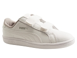 ST ACTIVATE  AC  PS SMASH  V2:BLANC/MULTI DOM. CUIR/PUMA Kids