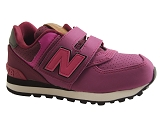 PBX14038 KV574YEY:VIOLET/NYLON/NEW BALANCE KIDS