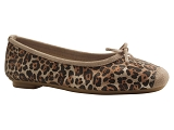 BOOT1003378 HARMONY LEO:LEOPARD/DESSUS CUIR/REQINS