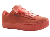 ROMILASTIC 309 WNS VIKKY PLATFORM:ROSE/VELOURS CUIR/PUMA Adultes
