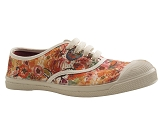 DOG131027 TENNIS 15004 ACQUAREL:MULTICOLORE/TISSU TOILE COTON/BENSIMON