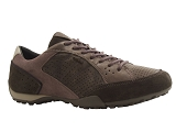 SLOANE EMB U SNAKE A:GRIS ANTHRACITE/MULTI DOM. CUIR/GEOX Adultes