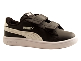 AUTHENTIC PUMA SMASH V2 LV:NOIR/MULTI DOM. CUIR/PUMA Kids