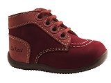 KICKERS E. BONZIP<br>bordeaux