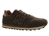 J AYKO ML373BRT:MARRON/MULTI DOM. CUIR/NEW BALANCE ADULTE